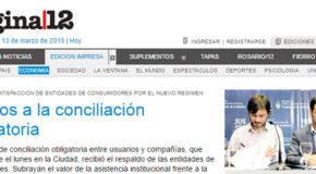 Apoyos a la conciliación obligatoria