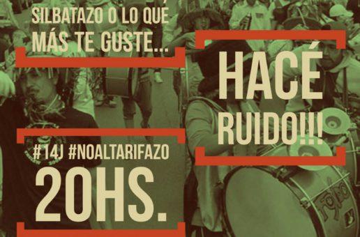 #14JNoAlTarifazo