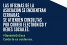 LAS OFICINAS PERMANECERÁN CERRADAS
