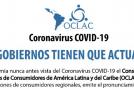 PRONUNCIAMIENTO DE LA OCLAC