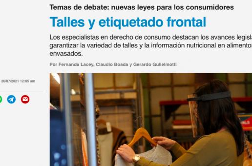 TALLES Y ETIQUETADO FRONTAL.