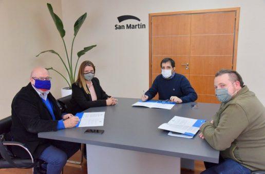 CONVENIO DE COLABORACIÓN CON EL MUNICIPIO DE SAN MARTÍN